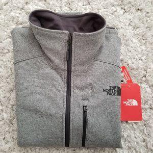 North Face Mens Apex Bionic 2 Grey HIKE Jacket, M